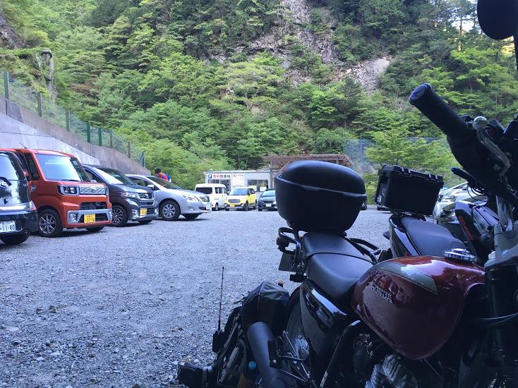 2019八経ヶ岳/駐車場