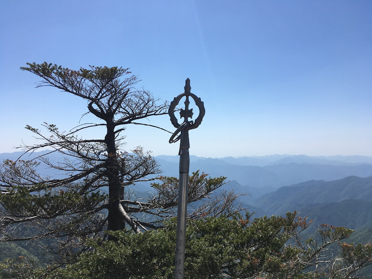 2019八経ヶ岳/錫杖