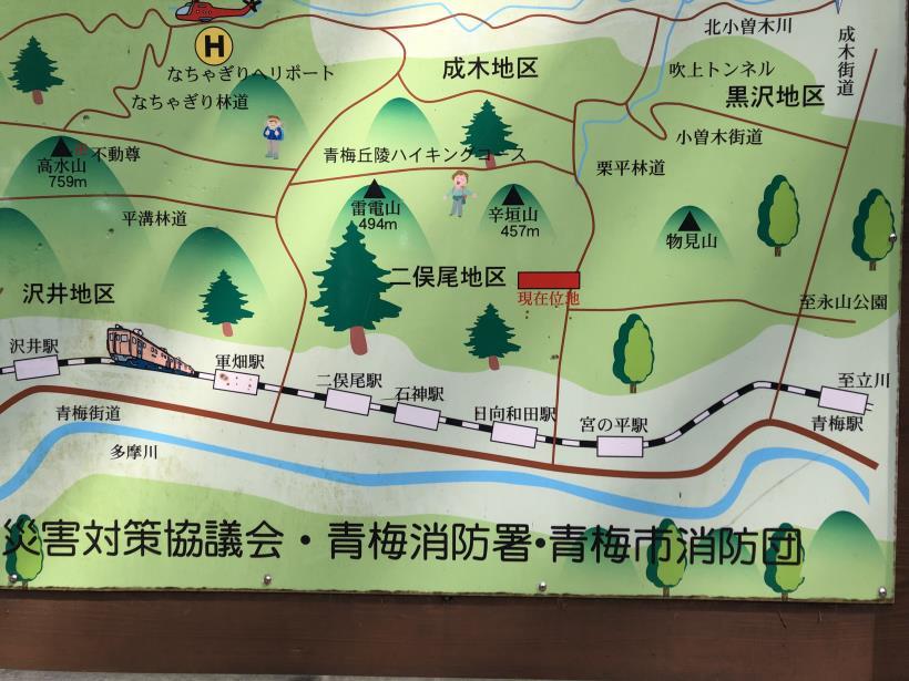 青梅丘陵栗平84