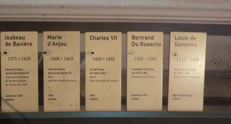 シャルル7世のプレート