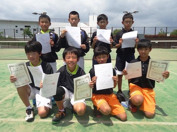 高学年男子 東日本大会出場者