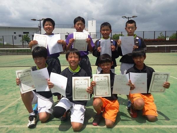 高学年男子 全日本大会出場者