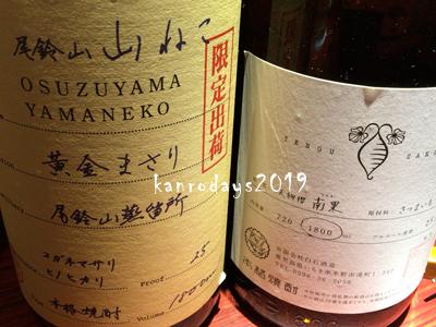 20190209_010尾鈴山山ねこと天狗桜南果
