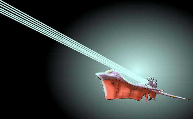 ナディア(万能戦艦N-ノーチラス号 主砲発射)改