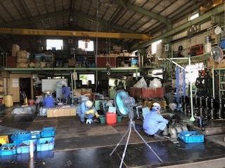 0603工場整備