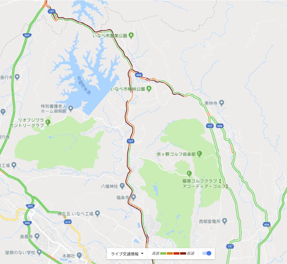 20190309 いなべ農業公園付近交通情報