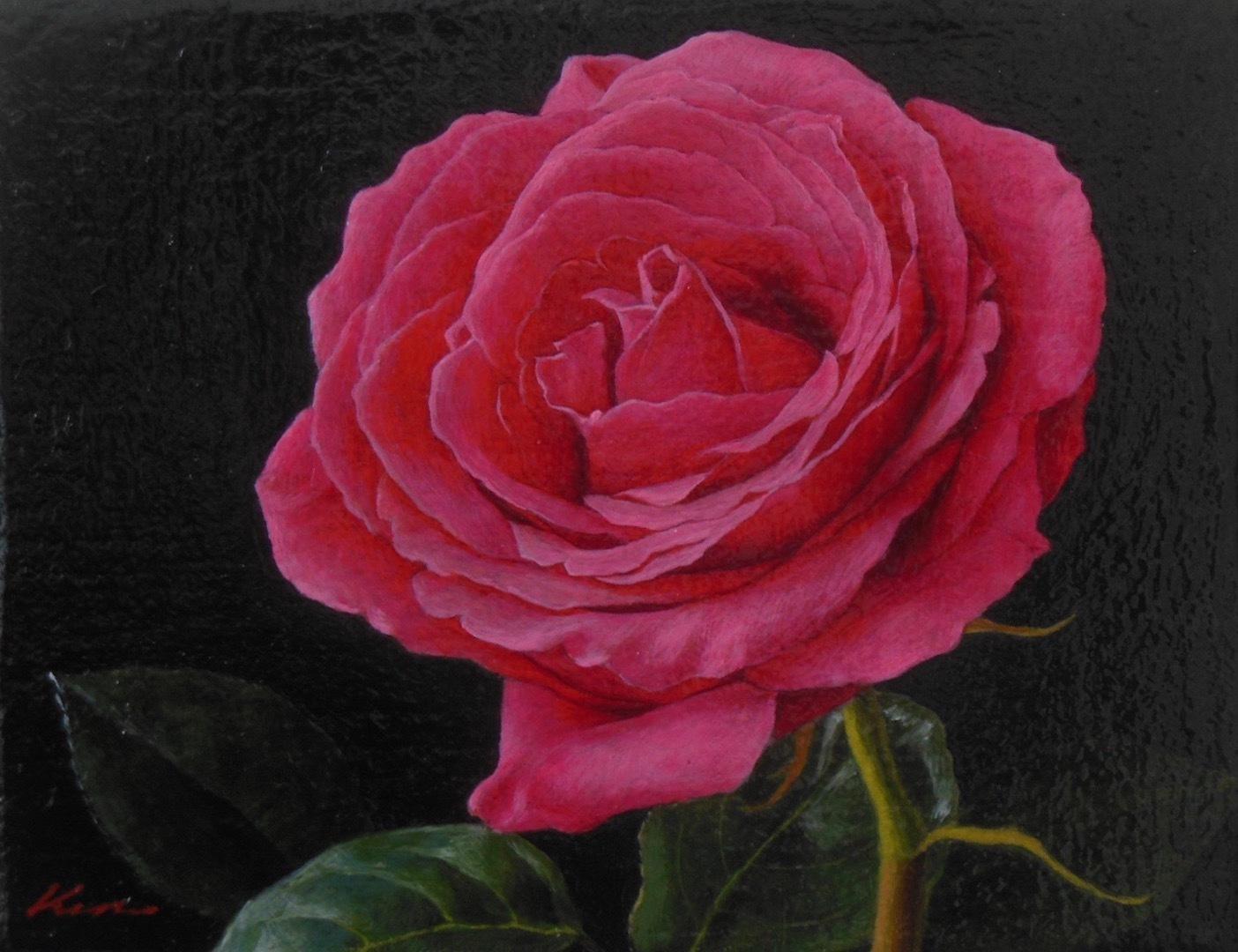 0号「薔薇一輪」