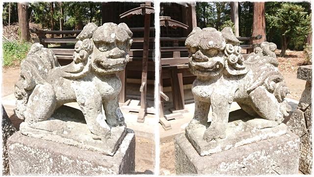 智賀都神社・狛犬