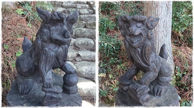 岩戸神社・狛犬