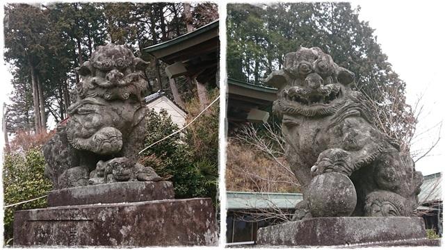 十二所神社・狛犬