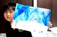 染色 絞り染め こども絵画造形教室キッズ・アトリエ