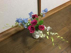結婚記念日お花