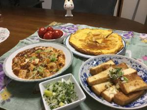 簡単な夕飯