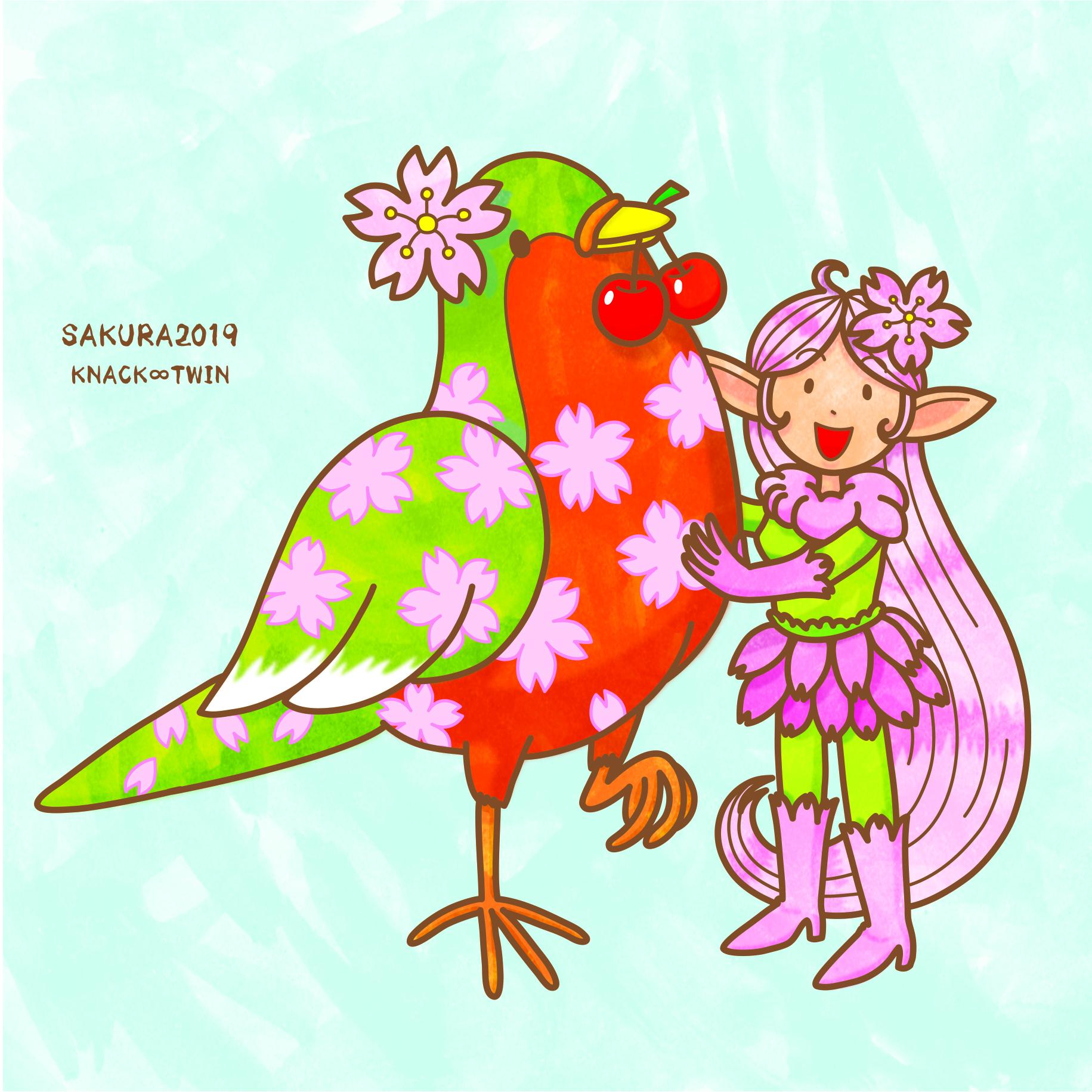 SAKURA2019桜の精(新作)