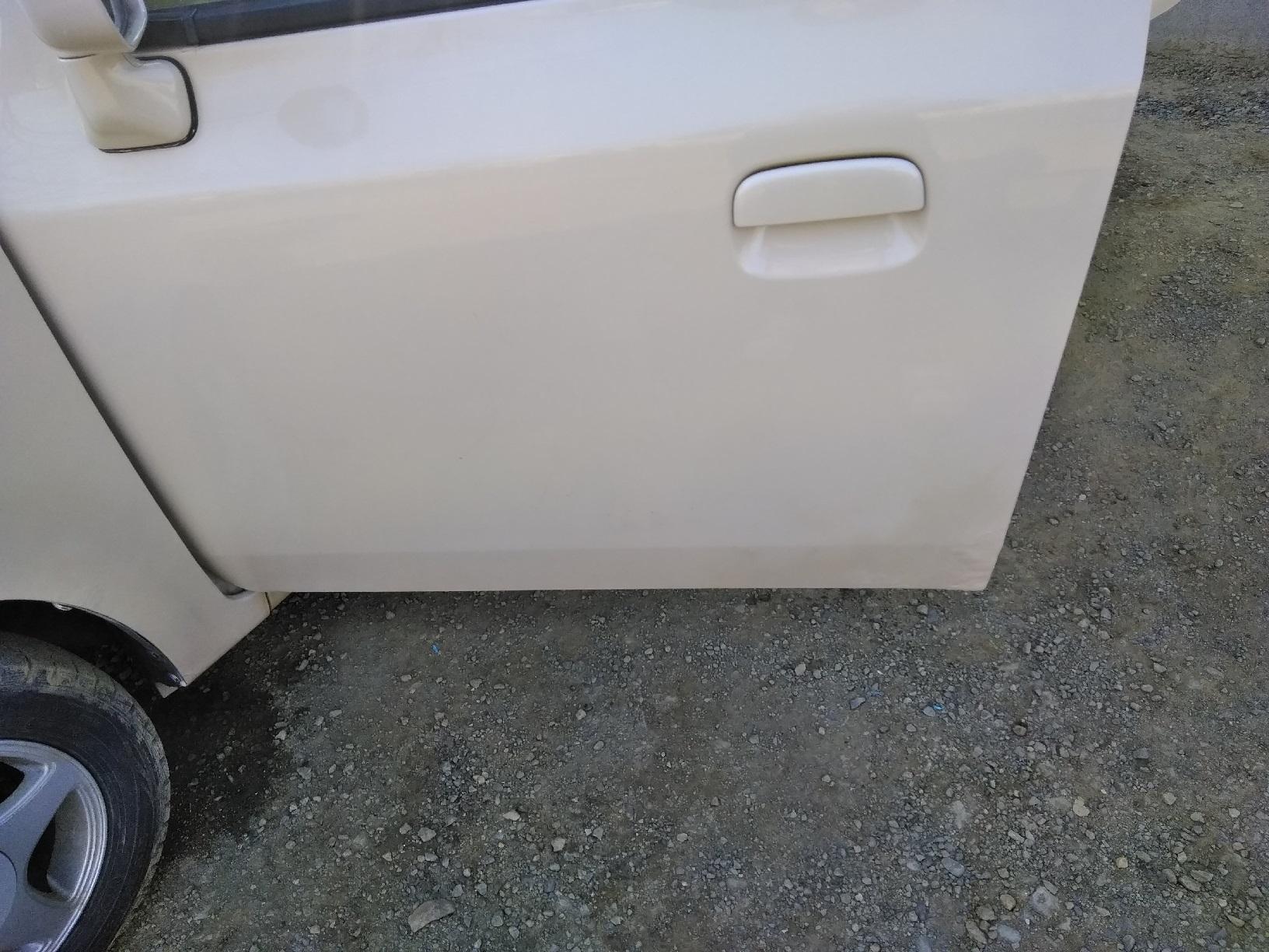 車のサビ傷の補修10