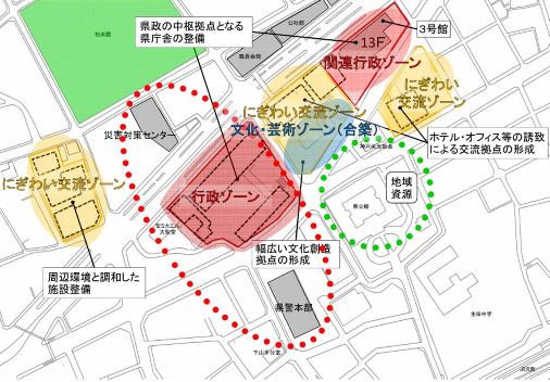 20190520県庁の施設配置