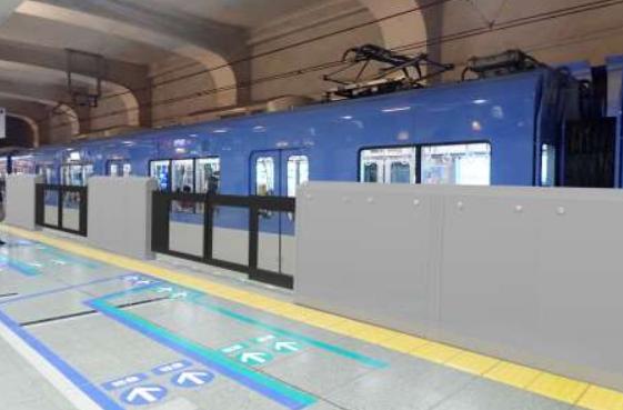 20190612阪神神戸三宮ホーム柵