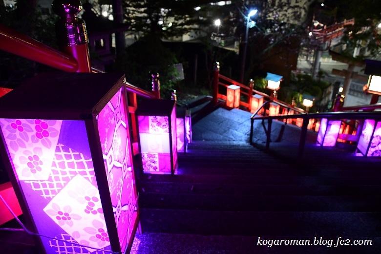 足利織姫神社の夜3