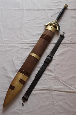 フルメタル仕様ドラクエミュージアムverロトの剣&木製鞘4