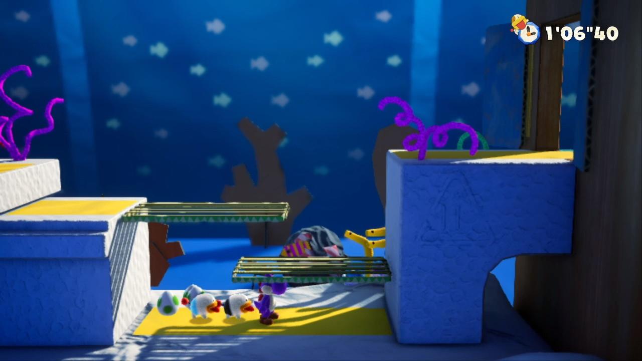 ヨッシー クラフトワールド® さがしもの-しましま小魚-2