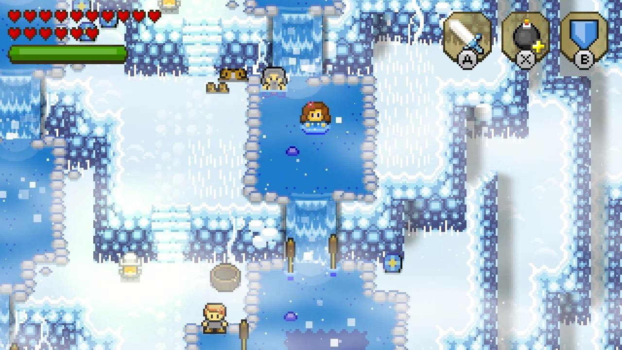 ブロッサムテイルズ® 雪降り山-3