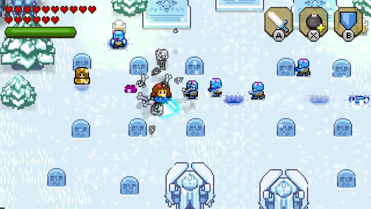 ブロッサムテイルズ® 雪降り山-5
