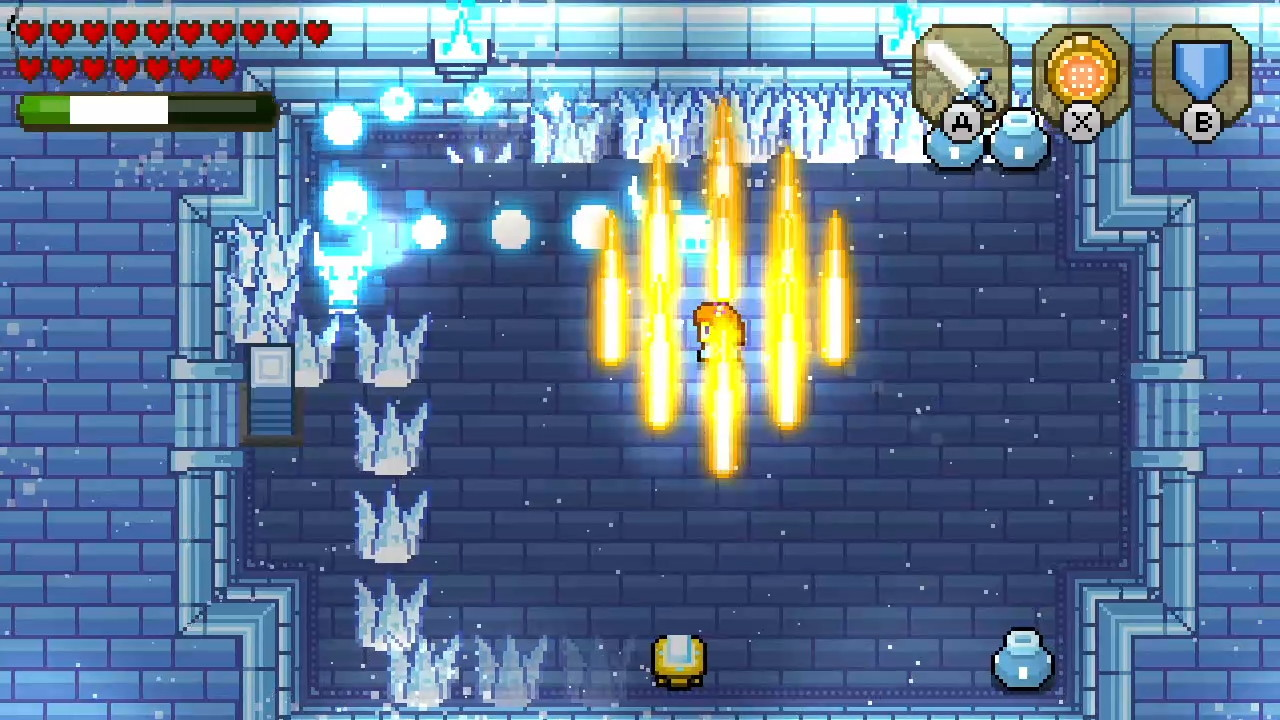 ブロッサムテイルズ® 氷の聖堂-10