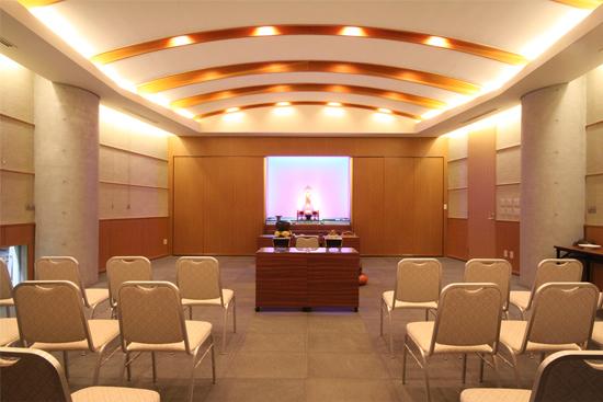 1貸切ホールはひとつだけpet-ceremony16