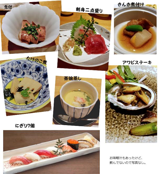 旭寿司 春の奏で膳