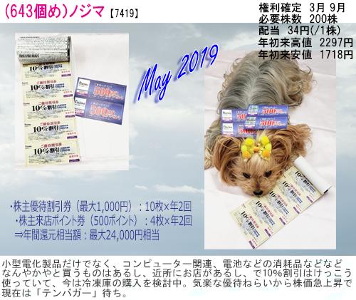 (643)2019年05月到着 ノジマ