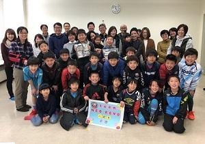 3.17(日)三期生卒団式写真①