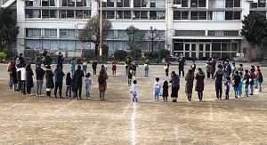 3.17(日)みんなでサッカー写真⑲円陣