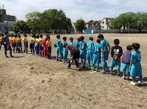 5.3(金祝)U12前期リーグ二日目写真①