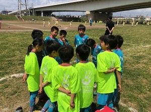 5.19(日)4年、日野昭島予選リーグ多摩川グラウンド②