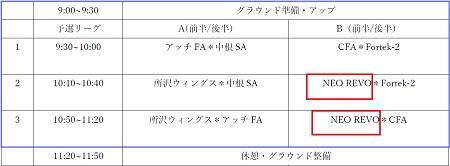 7.29(月)4年、U-10アッチ・サマーCUP②