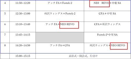7.29(月)4年、U-10アッチ・サマーCUP③
