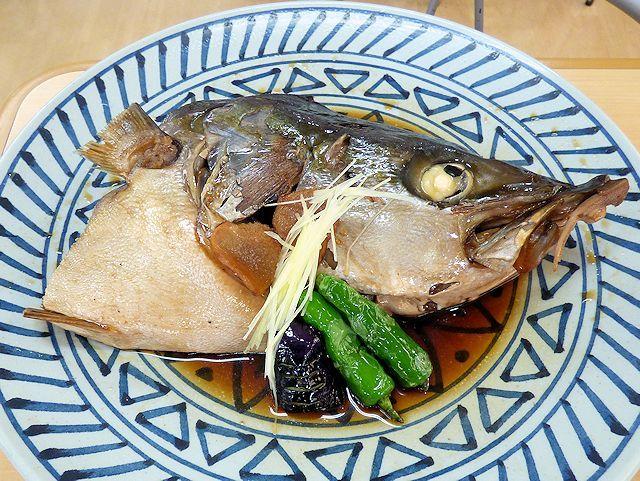 那珂湊おさかな市場で食べたブリの兜煮