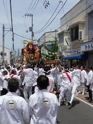 藤森神社藤森祭1905