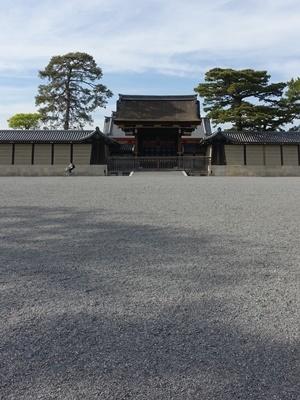 葵祭前の京都御苑1905
