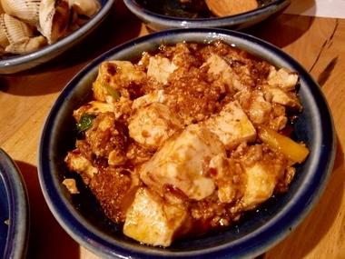 和食屋の麻婆豆腐♪