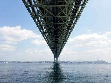 淡路海峡大橋!