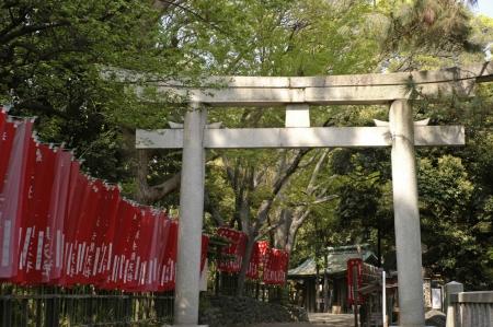 平塚八幡宮の鳥居