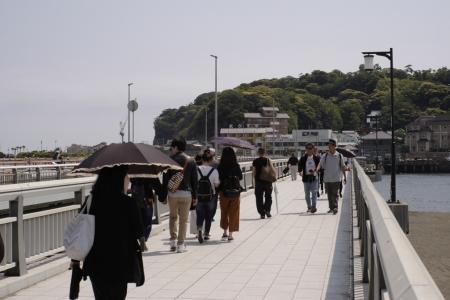 江ノ島へ渡る弁天橋