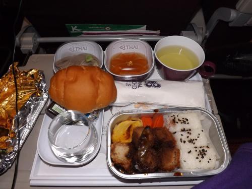 機内食 ランチ