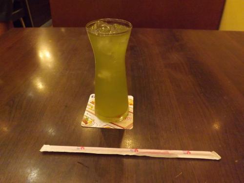 やよい軒 緑茶