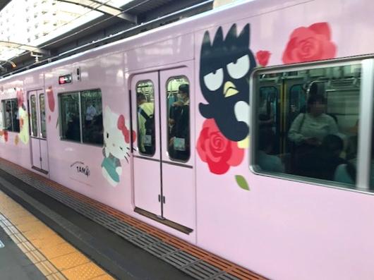 キティ電車