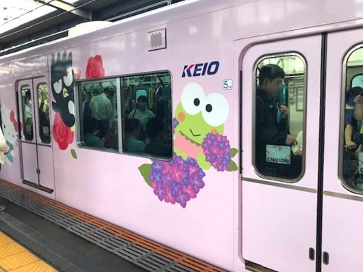 キティ電車2