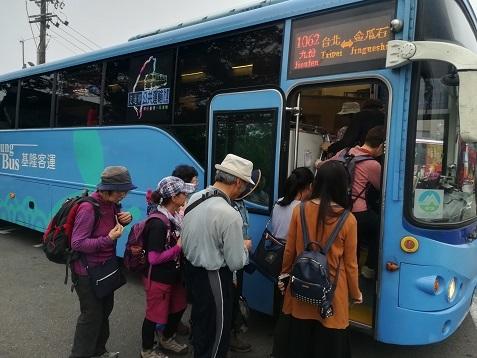 10 基隆客運バス1062系で台北へ向かう