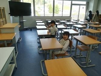 5s 教室の風景
