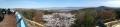 5 奈良盆地と大峰山系 パノラマ写真